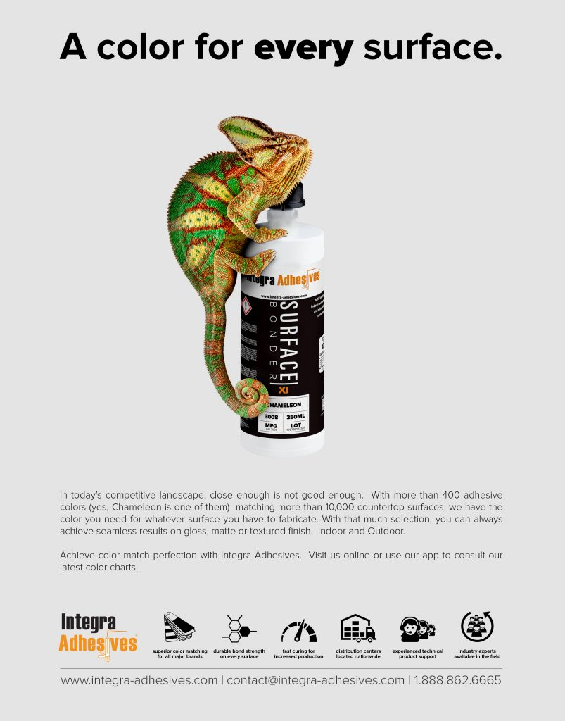 Integra Adhesives Chameleon Ad